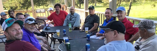 Thanks to Pat and Luke Hogan for organizing the Ivan Shea Memorial Golf Tournament on June 22nd. As a result of that fund raising event, our council will be donating $800 to My Sister's Place.  It was a blazing hot day so thanks to all the guys who partook in the golf event!