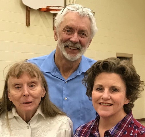 Bro. Tony Zylstra, along with his wife May, and our Pastoral Minister, Cathyrn Hall.
