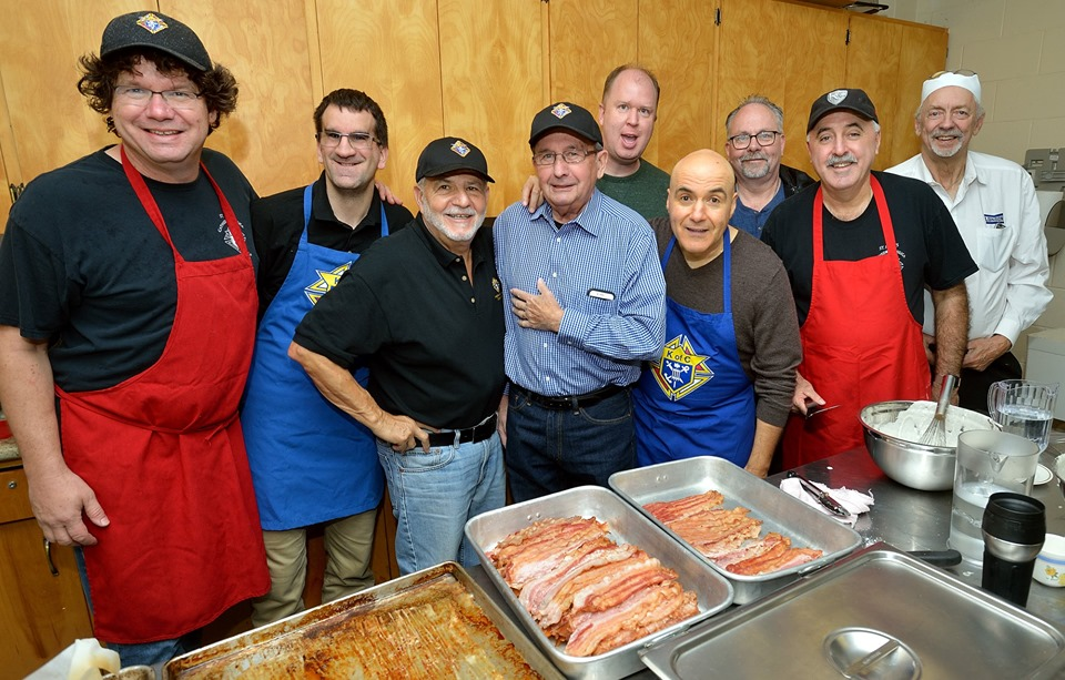 A team effort! Bros. Martin Healy, Nathan Marchand, Sam Circelli, Larry Barrett, Michael Butler, Gio Susini, Dave Houghton, Pat Hogan, and Tony Zylstra at your service!