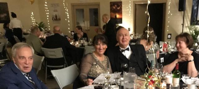 Lawrence & Janet Jardine & guests.