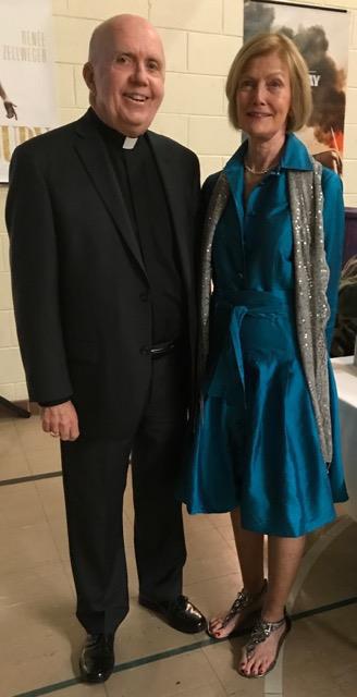 Fr. Jim joins Julie Sans.