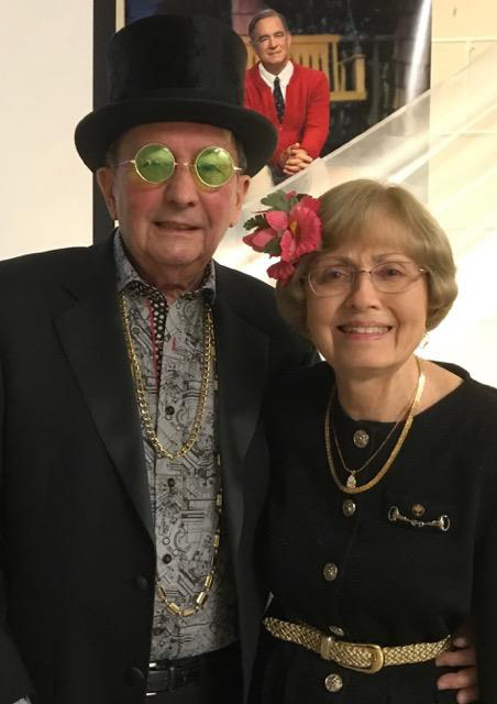 Bro. Larry Barrett & his wife Ruth looking daper!